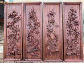 Hoa Mai - Một trong những họa tiết quan trong trong đồ gỗ mỹ nghệ